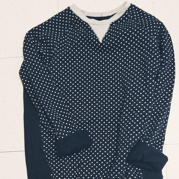 Forever 21 Shirts Mens Polka Dot Sweatshirt Poshmark